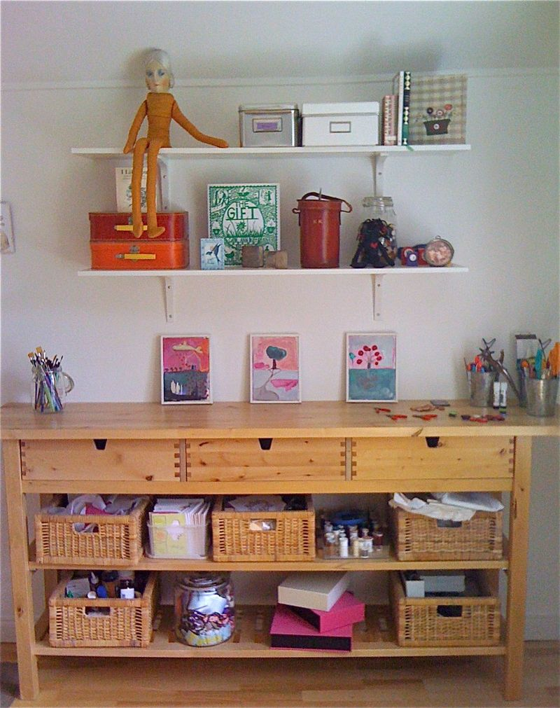My office craft table