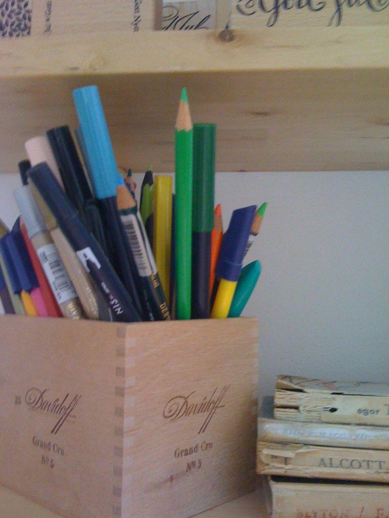 My office pencil box